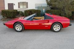 Ferrari 308 GTS QV Quattrovalvole Red 1983 Driver Side View