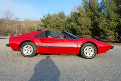 Ferrari 308 GTS QV Quattrovalvole Red 1983 Passenger Side View