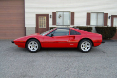 Ferrari 308 GTS QV 15000 Miles 1984 Driver Side View