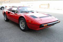 Ferrari 308 GTS QV 15000 Miles 1984 Passenger Side View