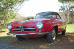 Alfa Romeo Sprint Speciale Red 1960