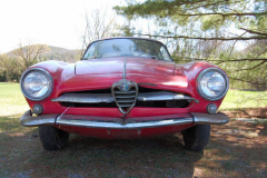 Alfa Romeo Sprint Speciale Red 1960 Front View