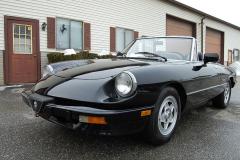 Alfa Romeo Spider Veloce Black 1987