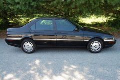 Alfa Romeo 164 LS Black 1995 Passenger Side View