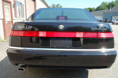 Alfa Romeo 164 LS Black 1995 Rear View