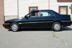 Alfa Romeo 164 LS Black 1995 Driver Side View