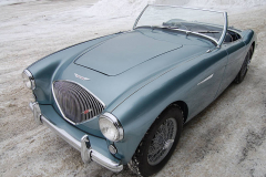Austin Healey 100 Grey 1953 Driver Side View
