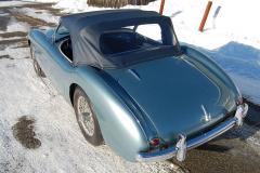Austin Healey 100 Grey 1953