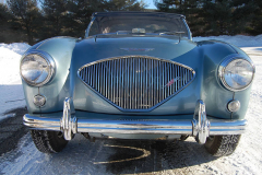 Austin Healey 100 Grey 1953 Front View
