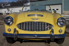 Austin Healey 3000 Mk1 BN7 Yellow1960 Front View