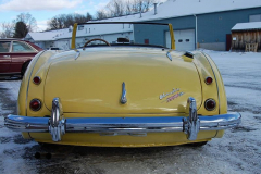 Austin Healey 3000 Mk1 BN7 Yellow1960 Rear View