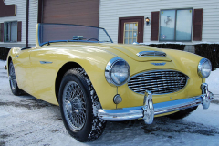 Austin Healey 3000 Mk1 BN7 Yellow1960