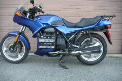 BMW K75S Blue 1992