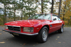 DeTomaso Longchamp Red 1976 Front View