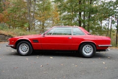 DeTomaso Longchamp Red 1976 Driver Side View