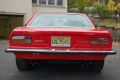 DeTomaso Longchamp Red 1976 Rear View
