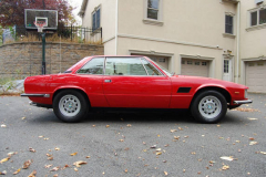 DeTomaso Longchamp Red 1976 Passenger Side View