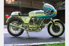 Ducati 900 SS Silver 1978