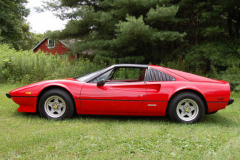Ferrari 308 GTS Red 1979 Driver Side View