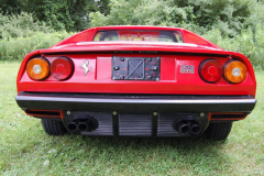 Ferrari 308 GTS Red 1979 Rear View