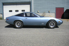 1972 Ferrari 365 GTC 4 Blue Passenger Side View