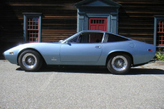 1972 Ferrari 365 GTC 4 Blue Drivers Side View