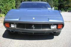 1972 Ferrari 365 GTC 4 Blue Front View