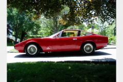 Ferrari 365 GTC 4 Red 60000 Miles 1972 Drivers View