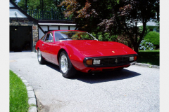 Ferrari 365 GTC 4 Red 60000 Miles 1972 Front View
