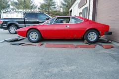 Ferrari 308 GT4 Red 1975 Driver Side View