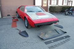Ferrari 308 GT4 Red 1975