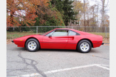 Ferrari 308 GTB Fiberglass 1978 Drivers Side View