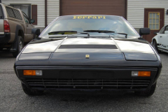 Ferrari 208 GT4 Black 1978 Front View