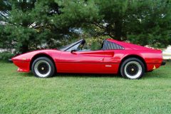 Ferrar1 308 GTS Red 1978 Driver Side View