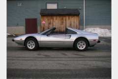 Ferrari 308 GTS Silver 25000 Miles 1979 Drivers Side View