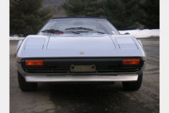 Ferrari 308 GTS Silver 25000 Miles 1979 Front View