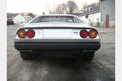 Ferrari 308 GTS Silver 25000 Miles 1979 Rear View
