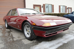 Ferrari 400i 5 speed Burgundy 1980