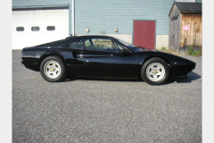 Ferrari 308 GTBi Black 1981 Passenger Side View