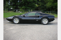 Ferrari 308 GTBi Black 1981 Driver Side View