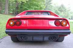 Ferrari 308 GTSi Red 1981 Rear View