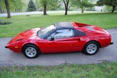Ferrari 308 GTSi Red 1981 Driver Side View