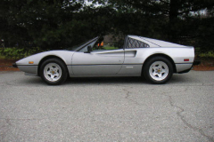 Ferrari 308 GTSi Silver 35000 Miles 1981 Drivers Side View