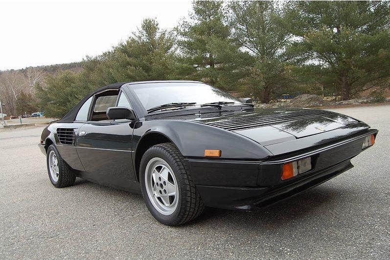 ferrari 1981 mondial coupe black 58000 miles forza. Black Bedroom Furniture Sets. Home Design Ideas