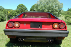 Ferrari Mondial Coupe Red 72000 Miles 1981 Rear View
