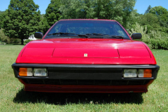 Ferrari Mondial Coupe Red 72000 Miles 1981 Front View