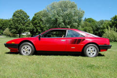 Ferrari Mondial Coupe Red 72000 Miles 1981 Driver Side View