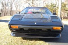 Ferrari 308 GTSi Black 1982 Front View