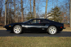 Ferrari 308 GTSi Black 1982 Driver Side View