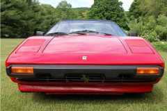 Ferrari 308 GTSi Red 1982 Front View
